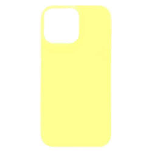Θήκη Soft TPU inos Apple iPhone 13 Pro Max S-Cover Κίτρινο