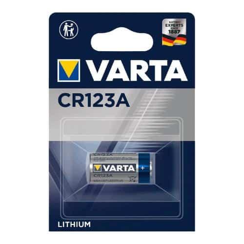 Μπαταρία Alkaline Varta CR123A 3V (1 τεμ)
