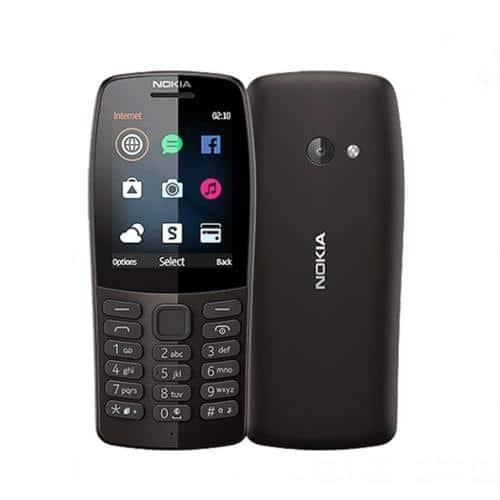 Mobile Phone Nokia 210 (Dual SIM) Black