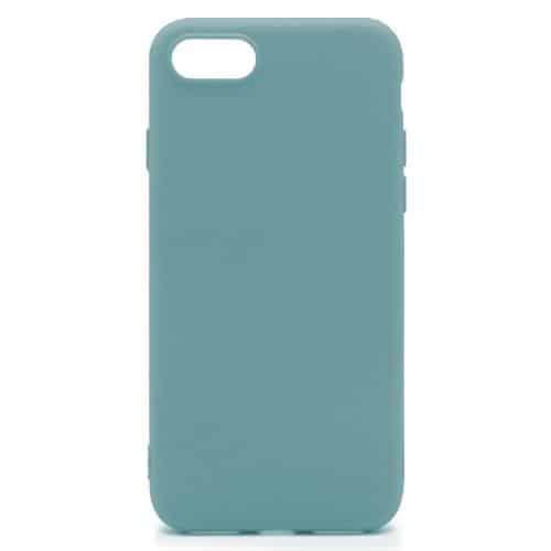 Soft TPU inos Apple iPhone 8/ iPhone SE (2020) S-Cover Petrol