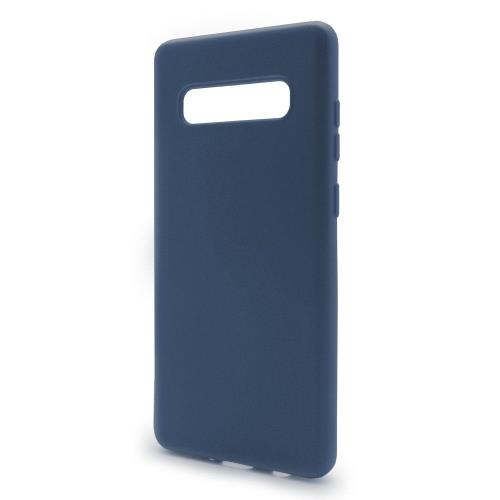 Liquid Silicon inos Samsung G973F Galaxy S10 L-Cover Blue Raf