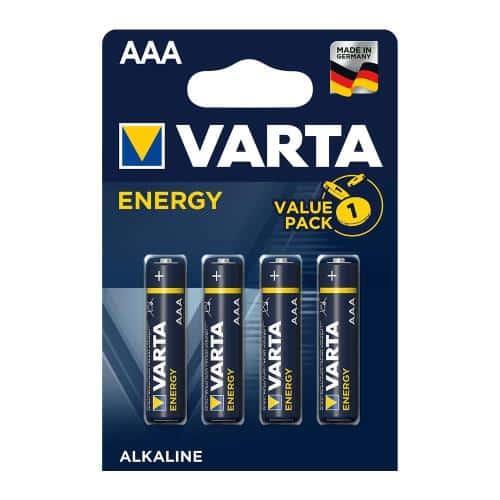 Battery Simply Alkaline Varta Energy AAA LR03 (4 pcs.)