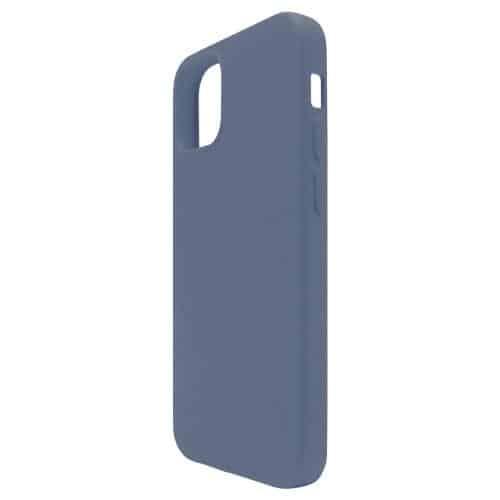 Θήκη Liquid Silicon inos Apple iPhone 12 mini L-Cover Μπλε Ραφ