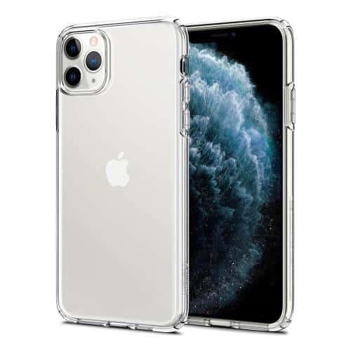 TPU Spigen Liquid Crystal Apple iPhone 11 Pro Crystal Clear