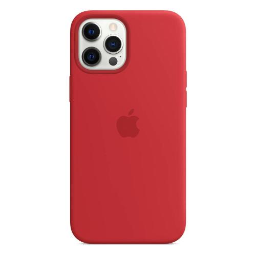 Silicon Case with MagSafe Apple MHLF3 iPhone 12 Pro Max Red
