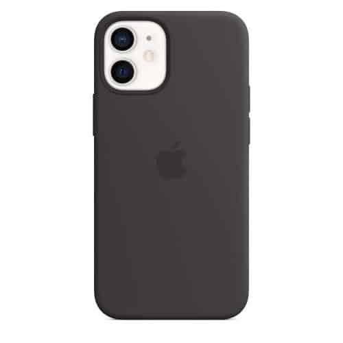 Silicon Case with MagSafe Apple MHKX3 iPhone 12 mini Black