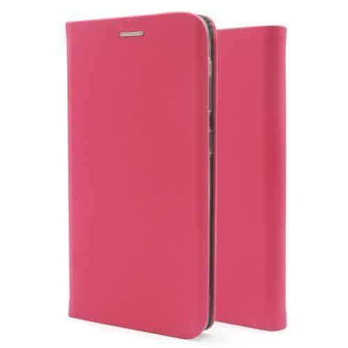 Flip Book Case inos Apple iPhone 8/ iPhone SE (2020) Curved S-Folio Fuchsia
