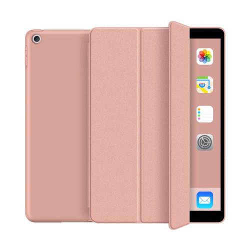 Flip Smart Case with TPU Back Cover inos Apple iPad 7 10.2 (2019)/ iPad 8 10.2 (2020) Rose-Gold