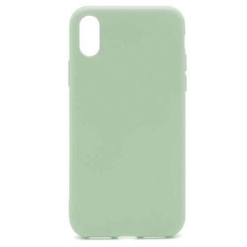 Soft TPU inos Apple iPhone X/ iPhone XS S-Cover Olive Green