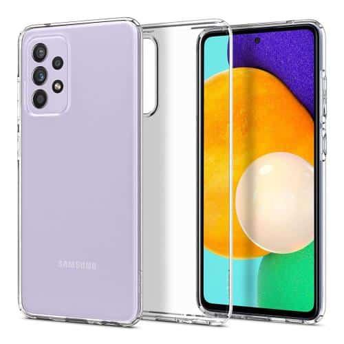 TPU Spigen Liquid Crystal Case Samsung A525F Galaxy A52 4G/ A526B Galaxy A52 5G Crystal Clear