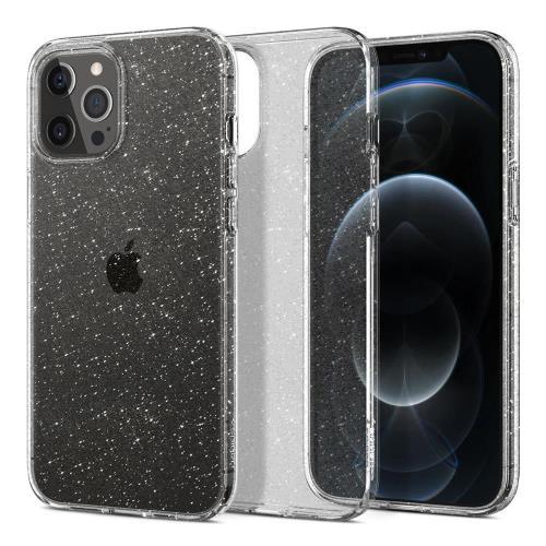 Θήκη TPU Spigen Liquid Crystal Apple iPhone 12 Pro Max Glitter Διάφανο