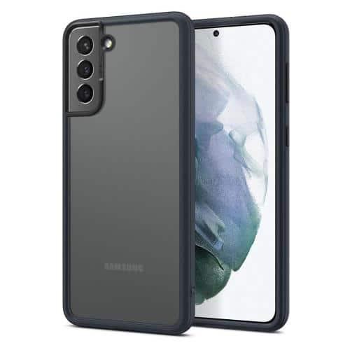 Soft TPU & PC Case Spigen Cyrill Color Brick Samsung G996B Galaxy S21 Plus 5G Dark Grey