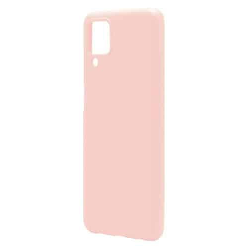 Θήκη Liquid Silicon inos Samsung A125F Galaxy A12 L-Cover Σομόν