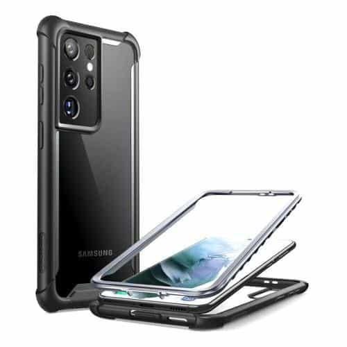 Θήκη Full Body Rugged i-Blason Supcase Ares Samsung G998B Galaxy S21 Ultra 5G  Μαύρο
