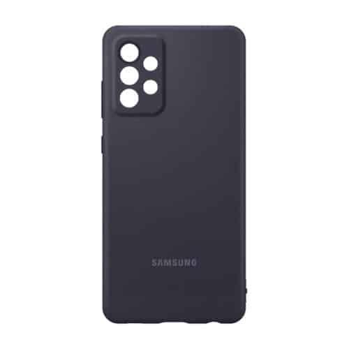 Silicon Cover Samsung EF-PA725TBEG A725F Galaxy A72 4G Black