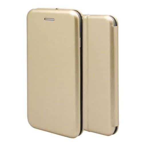 Flip Book Case inos Xiaomi Redmi 9 Curved M-Folio Gold