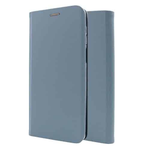 Flip Book Case inos Xiaomi Redmi Note 9S Curved S-Folio Pastel Blue