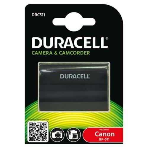 Μπαταρία Κάμερας Duracell DRC511 για Canon BP-511 1600mAh (1 τεμ)