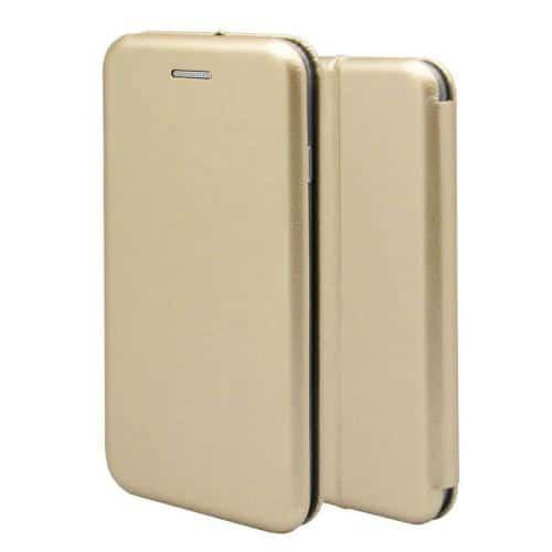 Flip Book Case inos Apple iPhone 8/ iPhone SE (2020) Curved M-Folio Gold