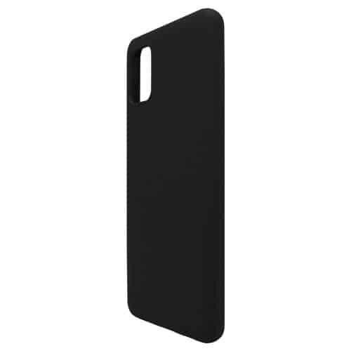 Θήκη Liquid Silicon inos Samsung A315F Galaxy A31 L-Cover Μαύρο