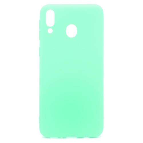 Soft TPU inos Samsung M205F Galaxy M20 S-Cover Mint Green