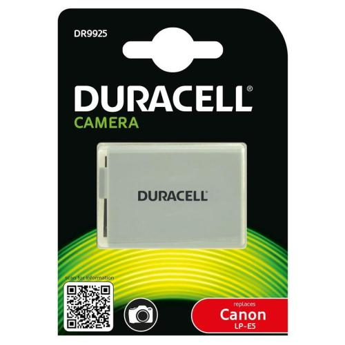 Camera Battery Duracell DR9925 for Canon LP-E5 7