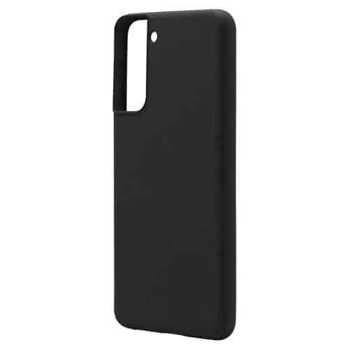 Θήκη Liquid Silicon inos Samsung G991B Galaxy S21 5G L-Cover Μαύρο