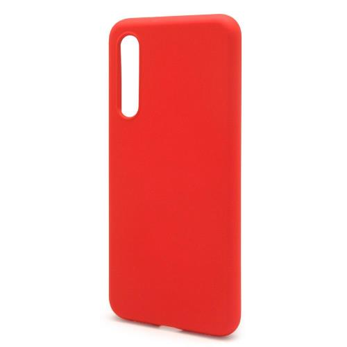 Liquid Silicon inos Xiaomi Mi 9 L-Cover Hot Red