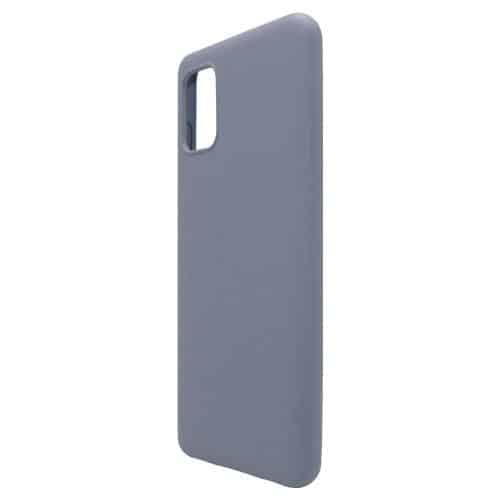 Θήκη Liquid Silicon inos Samsung A315F Galaxy A31 L-Cover Γκρι-Μπλε