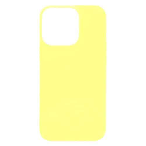 Θήκη Soft TPU inos Apple iPhone 13 Pro S-Cover Κίτρινο