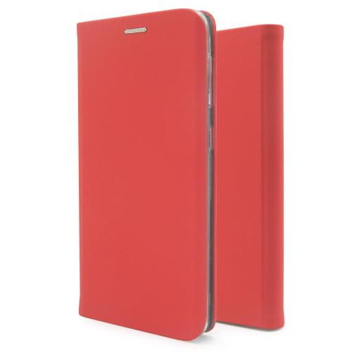 Flip Book Case inos Xiaomi Redmi 9 Curved S-Folio Red