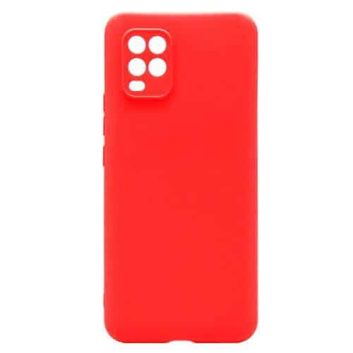 Soft TPU inos Xiaomi Mi 10 Lite S-Cover Red