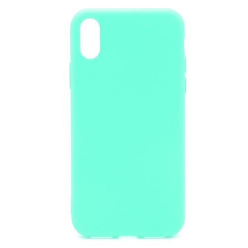 Soft TPU inos Apple iPhone X/ iPhone XS S-Cover Mint Green