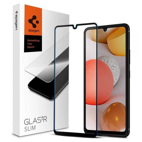 Tempered Glass Full Face Spigen Glas.TR Slim FC Samsung A426B Galaxy A42 5G Black (1 pc)
