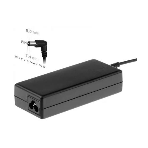 Laptop Charger Akyga AK-ND-04 90W for HP with Plug 7.4x5.0mm + pin