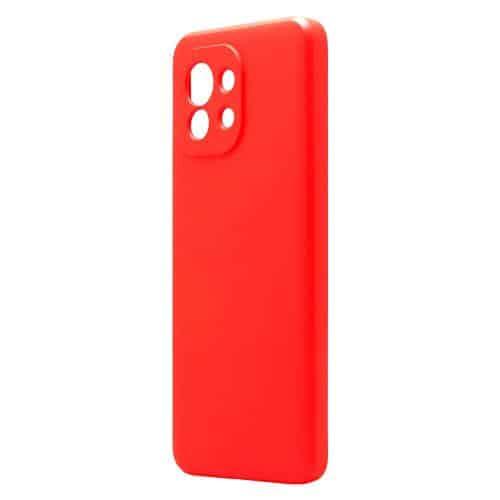 Θήκη Liquid Silicon inos Xiaomi Mi 11 5G L-Cover Κόκκινο