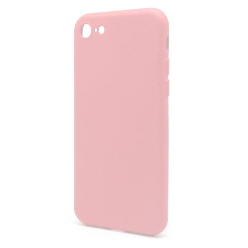 Liquid Silicon inos Apple iPhone 8/ iPhone SE (2020) L-Cover Salmon Pink