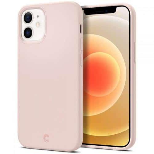 Θήκη Soft TPU & PC Spigen Cyrill Silicone Apple iPhone 12 mini Σομόν