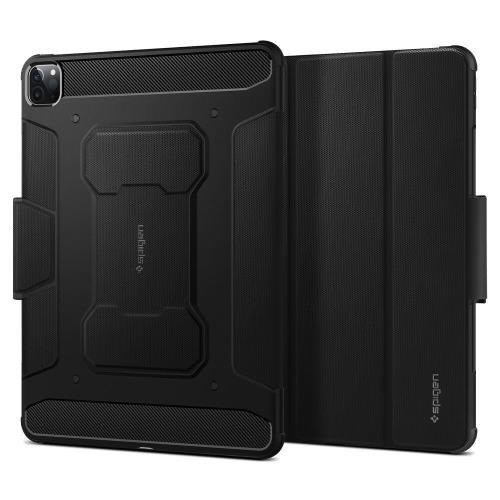 Θήκη Soft TPU Spigen Rugged Armor Pro Apple iPad Pro 12.9 (2021) Μαύρο