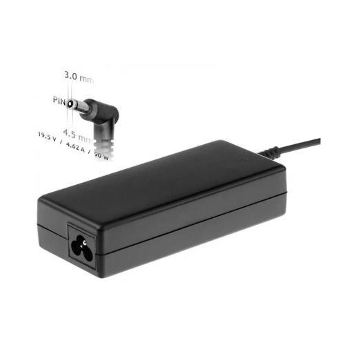 Laptop Charger Akyga AK-ND-26 90W for HP with Plug 4.5x3mm + pin
