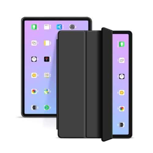 Θήκη Flip Smart inos Apple iPad Air (2020) με TPU Μαύρο