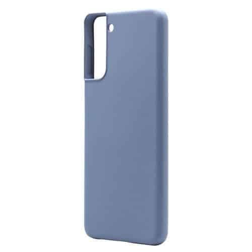 Θήκη Liquid Silicon inos Samsung G996B Galaxy S21 Plus 5G L-Cover Γκρι-Μπλε