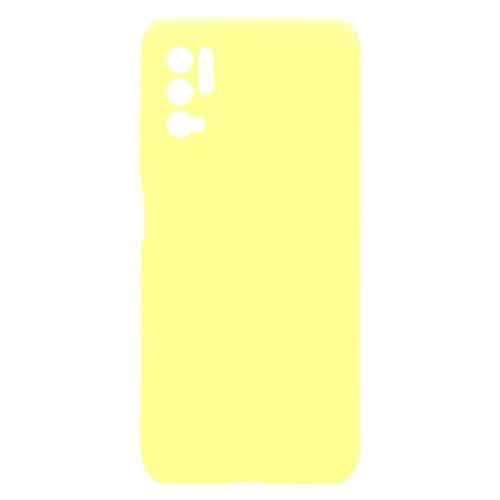 Θήκη Soft TPU inos Xiaomi Poco M3 Pro 5G S-Cover Κίτρινο