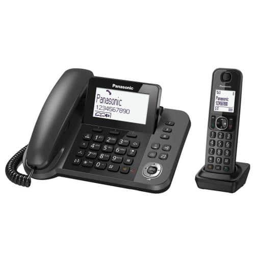 Dect Panasonic ΚΧ-TGF310 Duo with Hands Free port Black