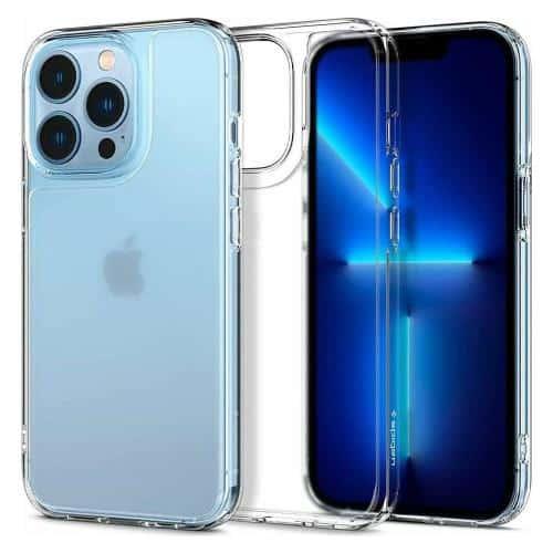 TPU & PC Back Cover Case Spigen Quartz Hybrid Apple iPhone 13 Pro Matte Clear