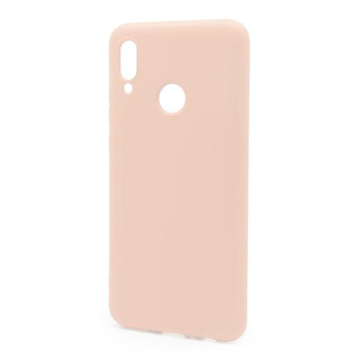 Liquid Silicon inos Huawei P Smart (2019) L-Cover Salmon Pink