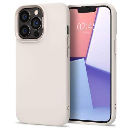 Θήκη Soft TPU & PC Spigen Cyrill Color Brick Apple iPhone 13 Pro Κρεμ