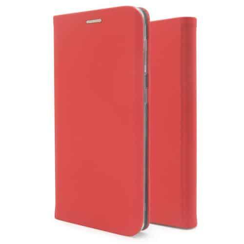 Flip Book Case inos Xiaomi Redmi 9T Curved S-Folio Red
