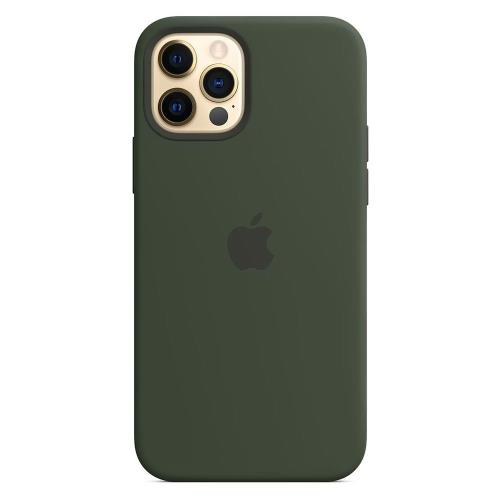 Silicon Case with MagSafe Apple MHL33 iPhone 12/ 12 Pro Cyprus Green