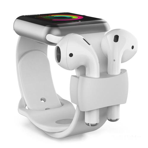 Holder AhaStyle PT75 Apple Airpods for Watch Straps Light Blue (2 pcs)
